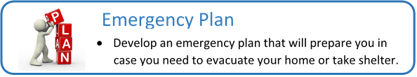 emergency plan graphic