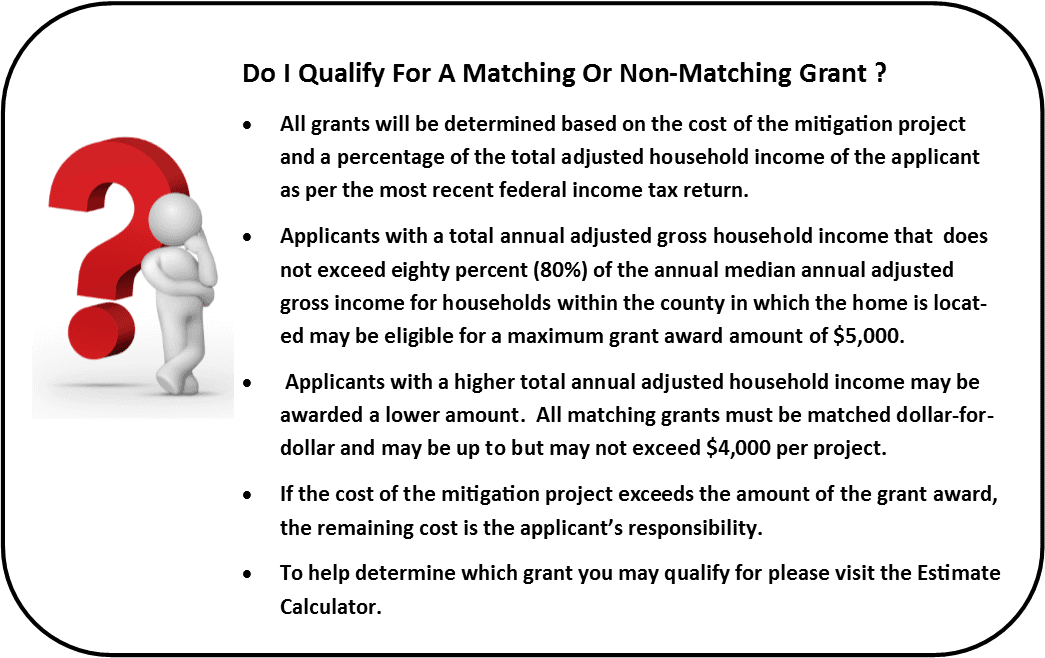 Do I Qualify For a Matching Or Non-Matching Grant ?